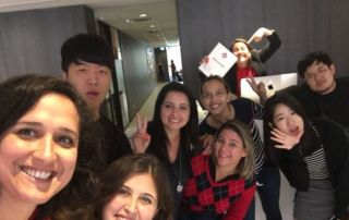 Mentora Language Academy Toronto students learn English and have fun!