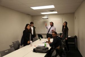 Mentora Language Academy Toronto students learn English at a bright, modern campus with their peers and instructors