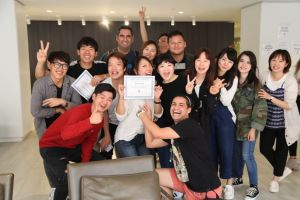 Mentora Language Academy Toronto students learn english together!
